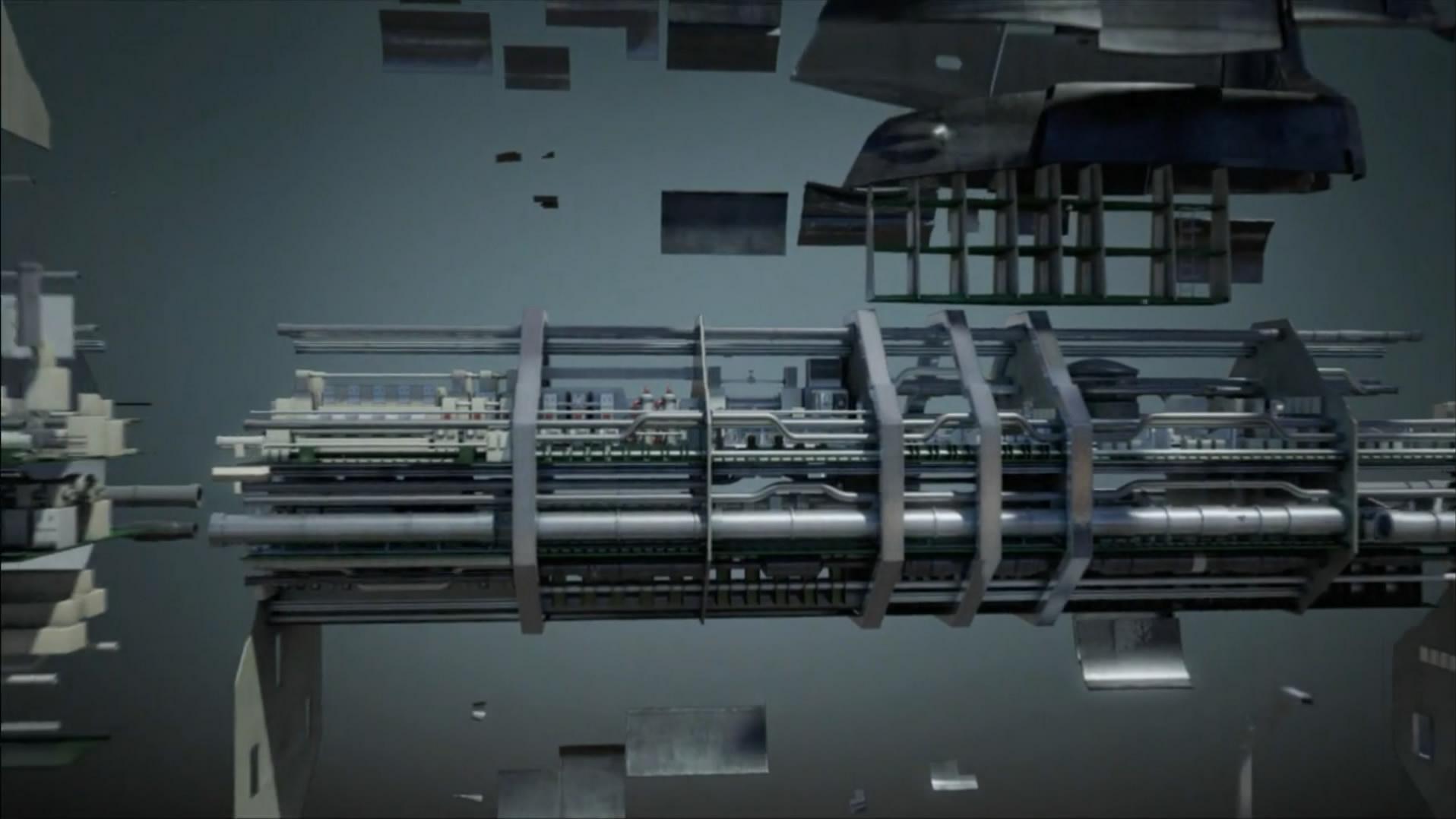 极品军事素材:潜艇的结构