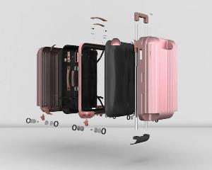 行李箱:产品结构演示动画