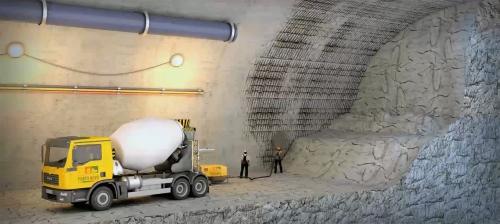 现代化机械作业:城市设施建设三维动画、隧道三维动画制作