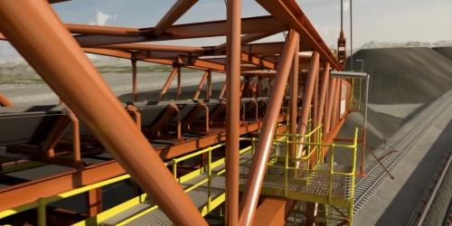 重工业建设交通运输铁路扩建:工程建设三维漫游动画制作