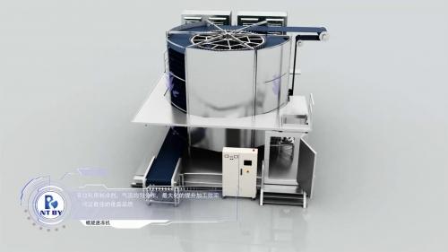 单螺旋:机械演示三维动画制作、机械模拟动画制作
