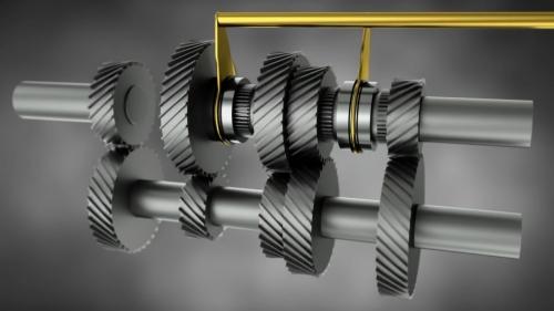 机械齿轮动画:仿真3d设计动画制作