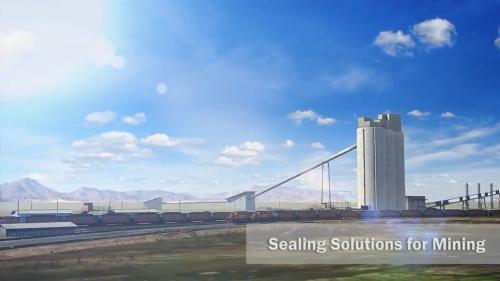 工业采矿业高科技密封系统:煤矿开采工业三维动画制作