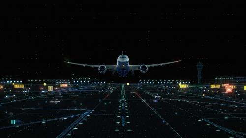 三维动画制作拟真飞机组装制造