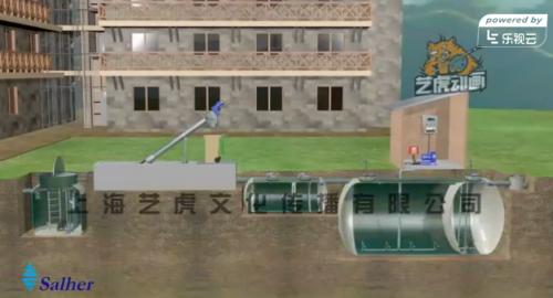 污水处理厂工程三维动画制作